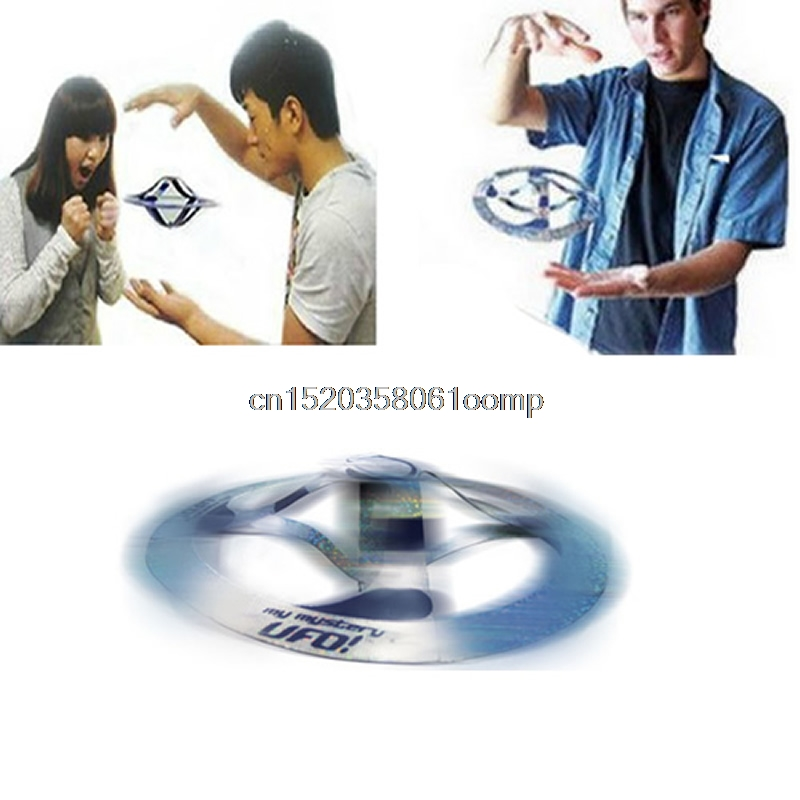 1PC Kid Amazing Mystery UFO Floating Flying Disk Saucer Magic Cool Trick Toy #K4UE# Drop Ship