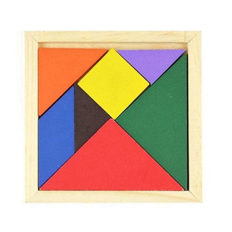 N103 деревянный детей головоломки Детские Поделки головоломки ручной работы я Puzzle игрушки раннего образования Логические игрушки