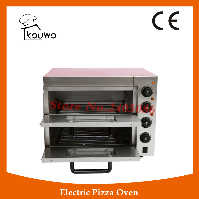 commercial catering equipment double layer temperature control electirc bread Pizza baking Oven for sale factory price pizza cone oven pizza cone machine pizza vending machines for sale