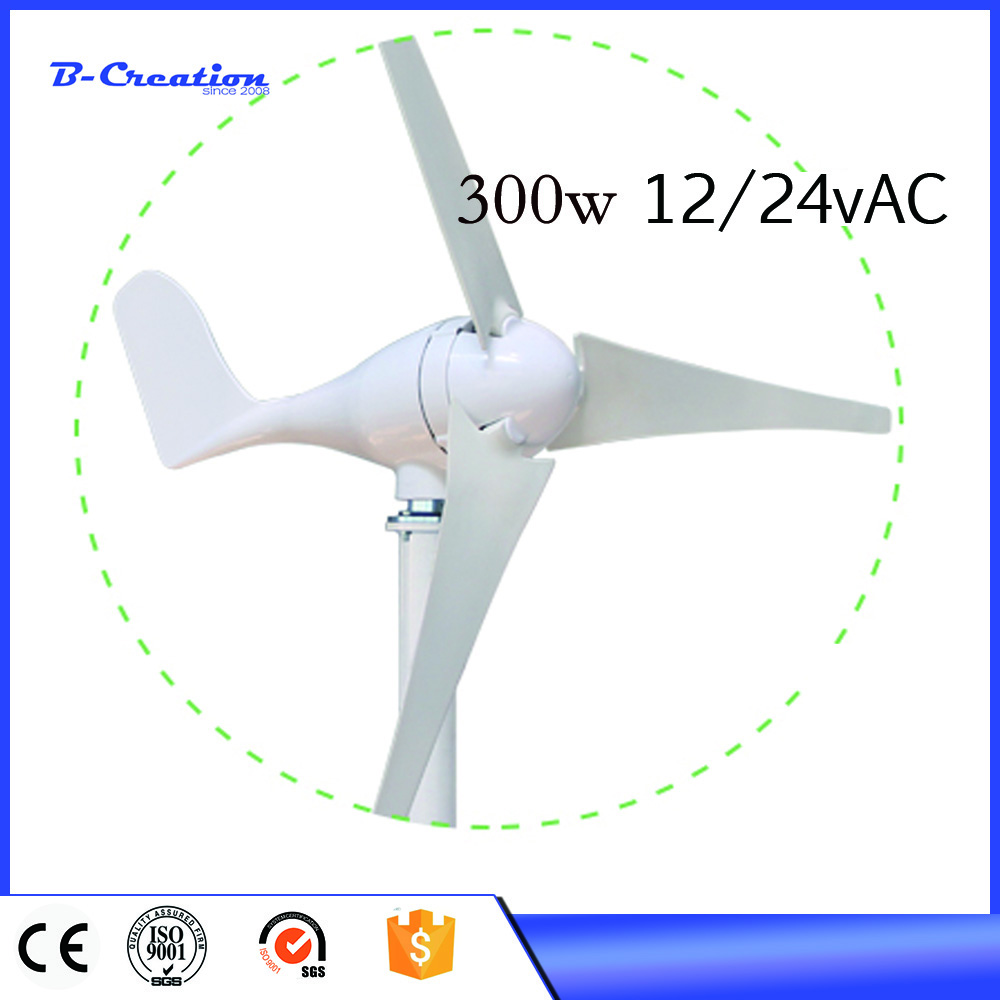 2017 hot sale!!!300W wind generator, 3 blades wind turbine generator, CE&ROHS approval wind power generator newest graphtec cb09 silhouette cameo holder 15pcs blades vinyl cutter plotter 30 degree hot sale