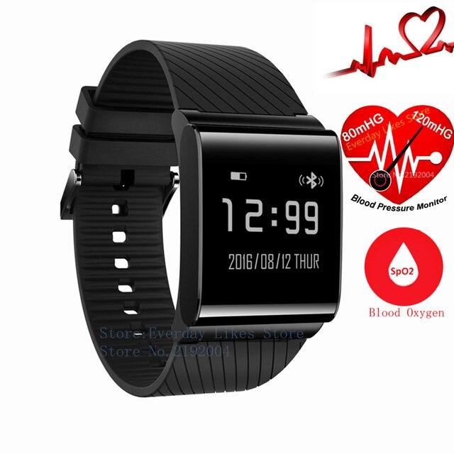 X9 Plus Blood Betreasure Bluetooth Smart Wristband Blood Oxygen Smart fitness Bracelet Heart Rate Monitor Smartband Waterproof