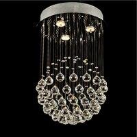 Современный, кристалл лампы простой LED гостиной освещение потолка творческий спальня столовая Ресторан подвесные светильники