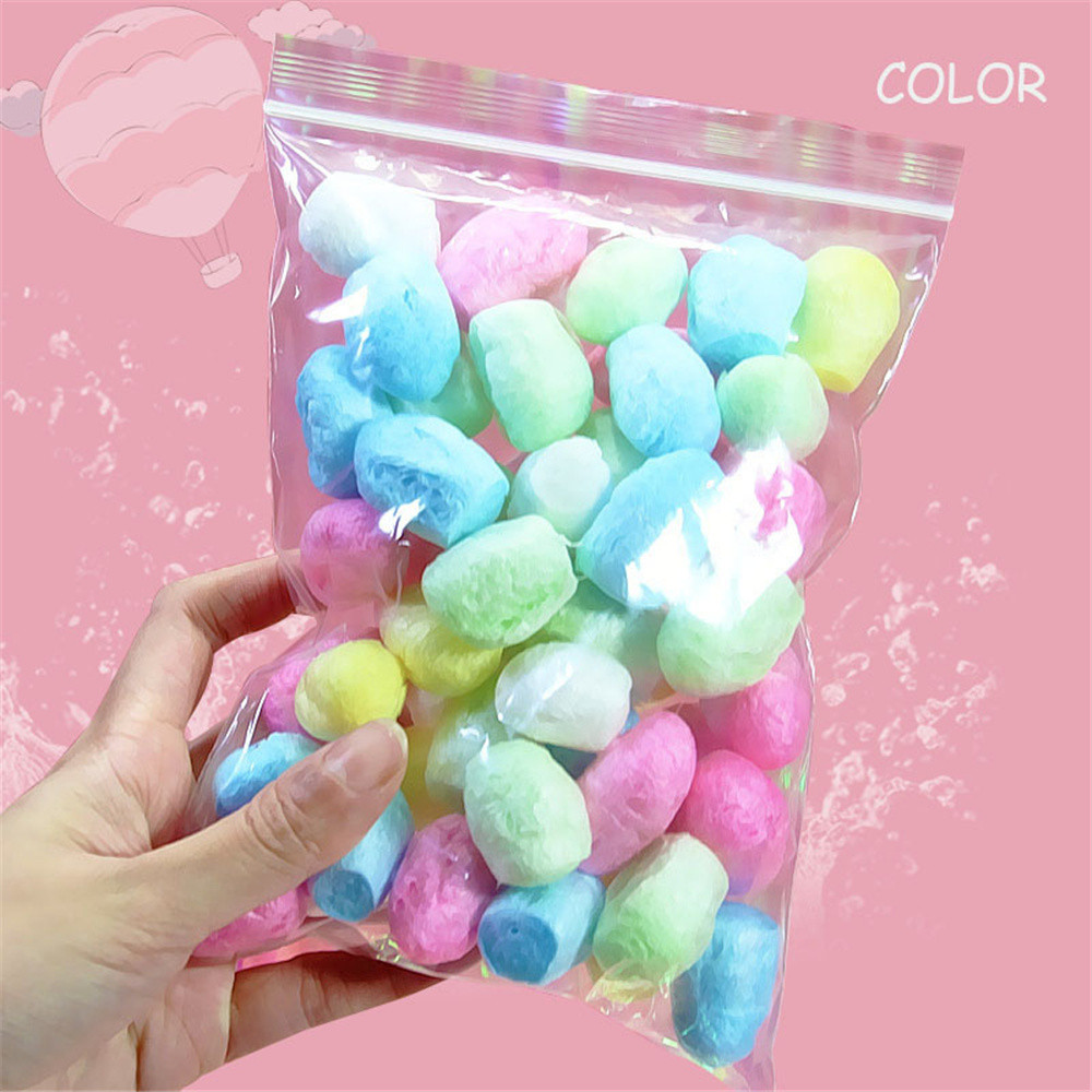 #5001 Colorful Styrofoam Foam Balls Slime Tool Fruit Slice For Slime Making Art Diy Craft Learning & Education Toys & Hobbies