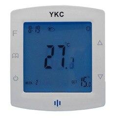 Podwójny czujnik ciepłej wody systemy ogrzewania promienna termostat z 2 linii lub 3 linii sterowanie zaworem