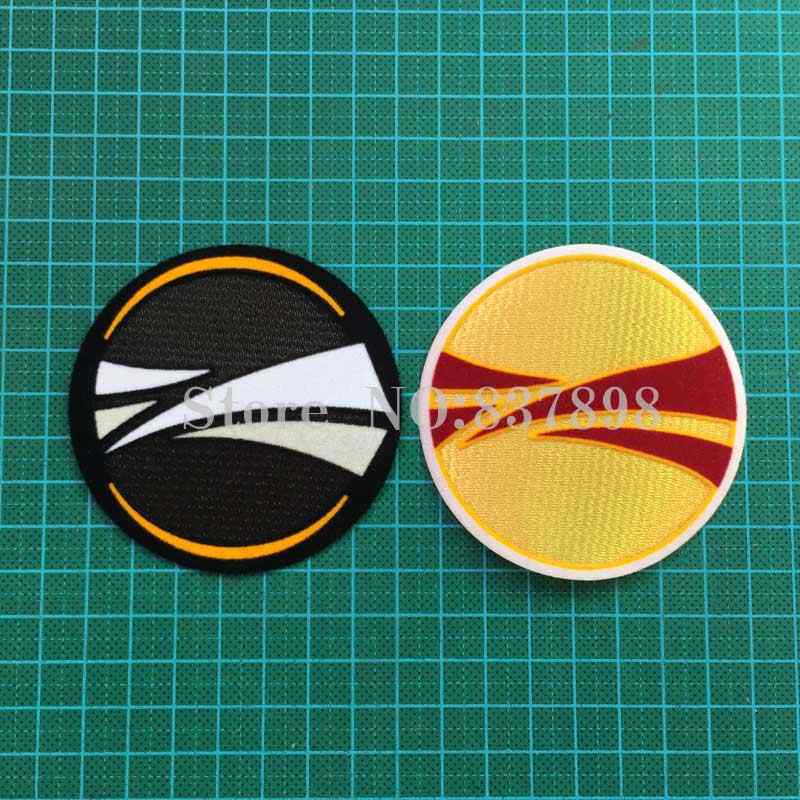 Voetbal Patch Badge Kasjmier Materiaal Fluwelen
