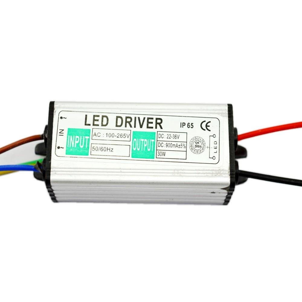 30W AC 85 265V to 30V Power Supply LED Driver lighting Transformer For LED Strip IP65