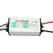 30W AC 85-265V to 30V Power Supply LED Driver lighting Transformer For LED Strip IP65 Waterproof Adapter