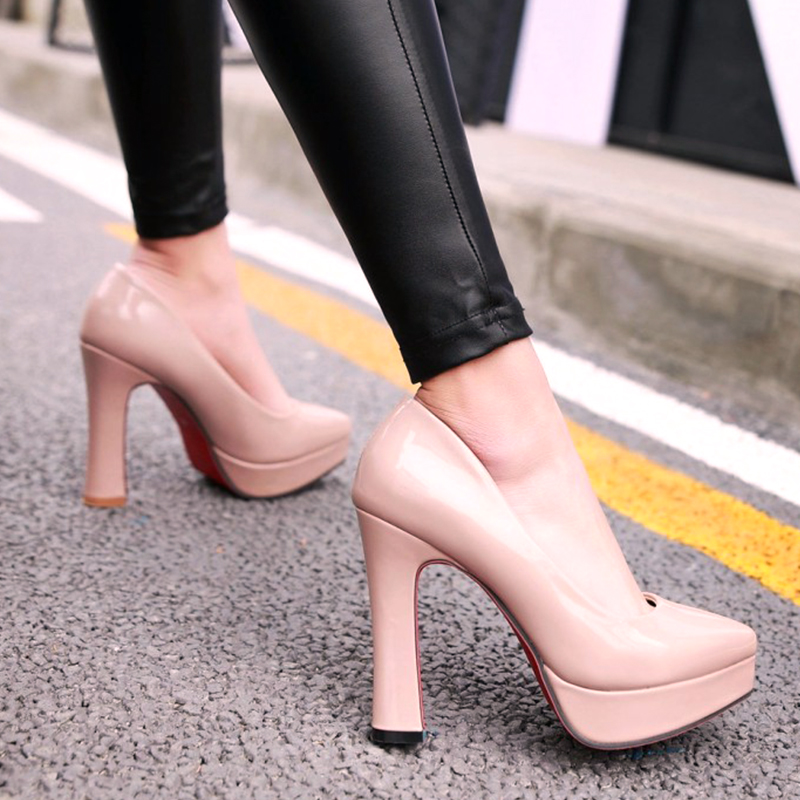 SARAIRIS Top Quality 2019 BIG Size 43 Ins Style Platform Women Shoes Woman Fashion Pointed Toe High Heels Party Wedding Pumps