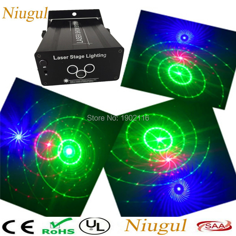 Niugul AUTO/Sound RGB Stage Lighting 3 Lens Big Patterns Laser Stage Lighting Effect DJ Home Party show Music Christmas Party 3 lens rgb full color scan beam line pattern laser lights dmx sound auto dj party home show bar club stage lighting effect h 3 p