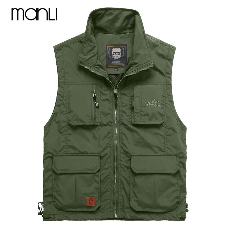 MANLI Outdoor Tactical Sport Sleeveless Vest homme 2018 Afs Jeep Leisure Military Jacket Mens Tactical Vest Sweatshirts Coats