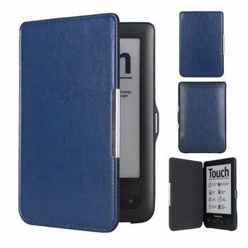 Cartera táctil Lux2 Flip on Open Pocketbook Cover Pocketbook 623 622 E-book bolsa de funda de lector