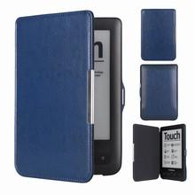 Portfel Touch Lux2 Flip on luźne kieszenie Book Cover Pocketbook 623 622 E-book E-book etui do czytnika tanie tanio Osłona skóra 0402049 Stałe 11 4cm Moda For Pocketbook Odporny na wstrząsy Ochrona przed kurzem Twarde 17 4cm pu Leather+plastic Shell