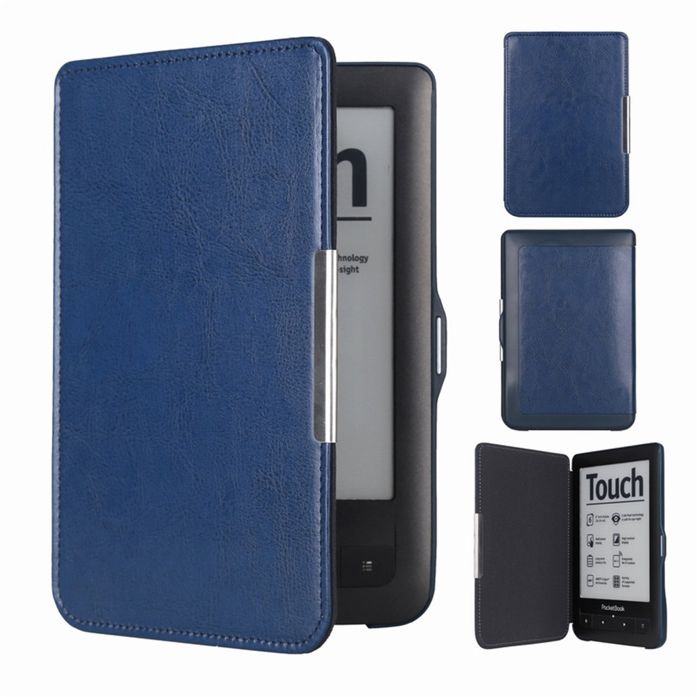 Wallet Touch Lux2 Flip On Open Pocket Book Cover Pocketbook 623 622 E-book E-reader Case Bag
