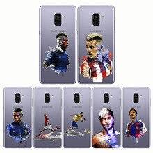 Ronaldo Messi Neymar Football Barcelona Soccer  Soft Silicone Phone Cases Cover For Samsung Note10 pro S10 PLUS Lite J8 J6 Plus