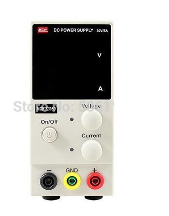Livraison rapide nouveau 0 ~ 30 V 0 ~ 5A Portable Mini DC réglable alimentation cc/ordinateur Portable puissance de réparation