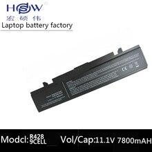 цена на NP300E NP-Q470 300E4A-A02 NP-300V 7800MAH Battery AA-PB9NC6B AA-PB9NC5B AA-PL9NC2B For SAMSUNGR428 R429 R430 R460 R462 R463 R528
