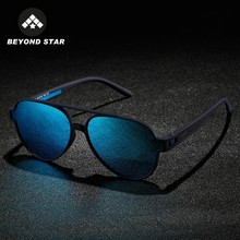 Blue Mirror Aviation Man Sunglasses Polarized sun glasses for men