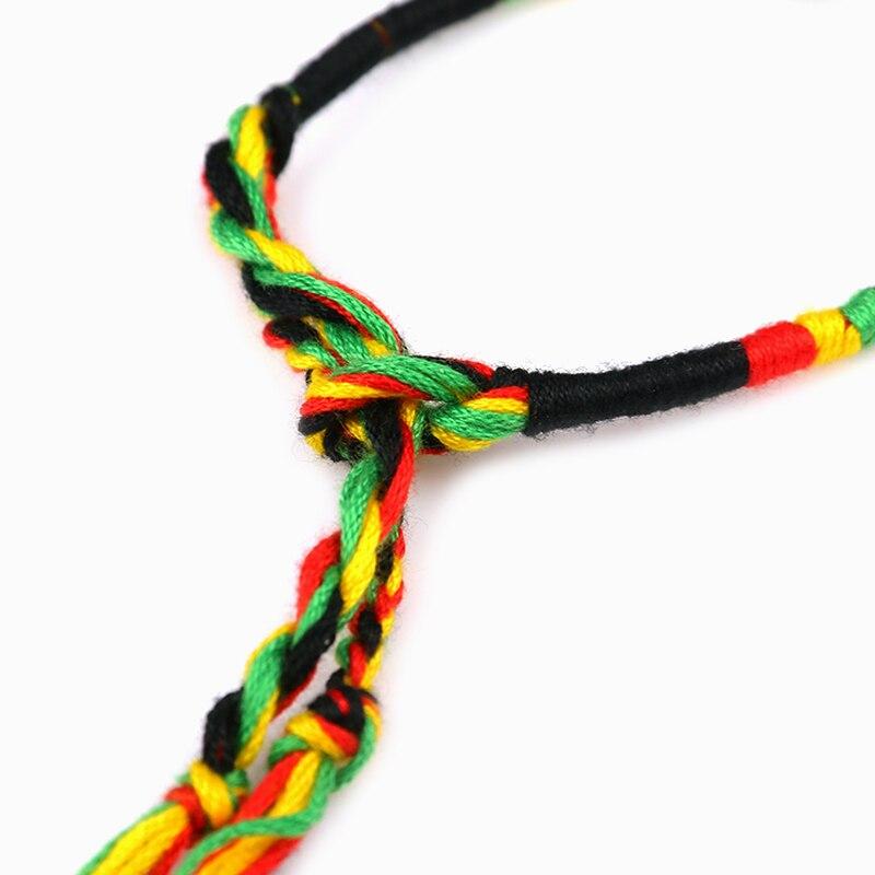 Women brazilian bracelet multicolor braided boho chain bohemian tassel strain handmade sport chain friendship bracelets unisex 5