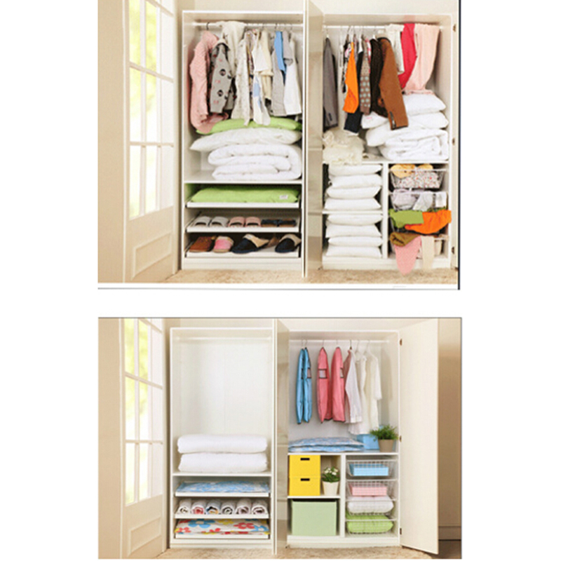 Travel Waterproof Vacuum Storage Rangement Bag Save Space Saver Closet Seal  Compressed Organizer Bag For Clothes Wardrobe In Storage Bags From Home U0026  Garden ...