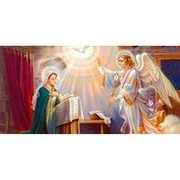Kai Ping Mei Park Diamond Embroidery DIY Diamond Painting Religious Saints Read The Bible Diamond Inlay
