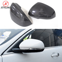 For Jaguar XF XE carbon Mirror Cover Replace & Add On XK XJ XKR Rear Side View Mirror Cover 2010 2012 2013 2014 2015 2016 2017+
