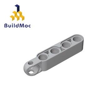 BuildMOC Compatible Technic 15459 1x5 For Building Blocks Parts DIY LOGO Educational Tech Parts Toys