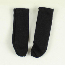 1/6 Black Socks Models for 12''Figures