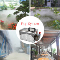 Spray machine artificial fog nozzle equipment dust humidifier high pressure cooling System for chicken house