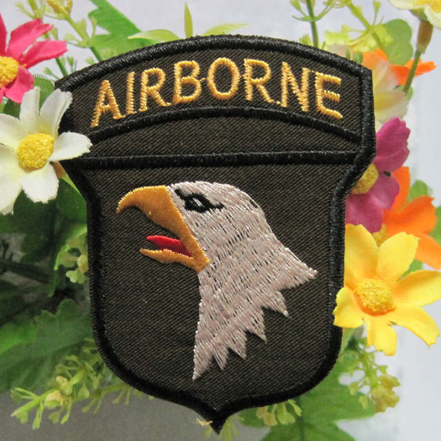 Online Shop 2018 Real Direct Selling Stickers 2 Pieces Usa Army 101st  Airborne Division Screaming Eagles Logo T-shirt Jacket Iron On Patch  d82d88d29