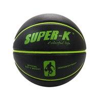Poam PVC Vrouwen basketbal training bal Indoor & Outdoor game gebruikt basketbal bal maat 7