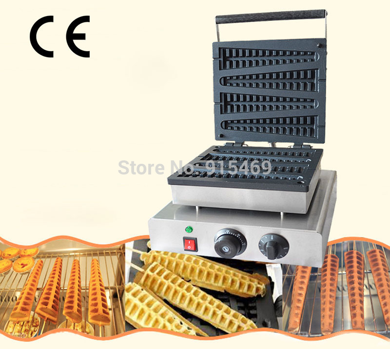 Free Shipping Commercial Use 4pcs 110v 220v Electric Lolly Waffle Stick Maker Iron