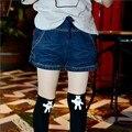 Джинсовые Шорты Для Девочек Подростков 5 6 7 8 9 10 11 12 13 14 15 Лет Дети Джинсы 2017 Летние Дети Школы Младенческой одежда