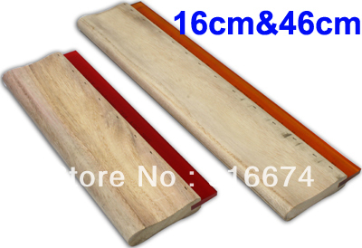 Free shipping Discount Cheap 2 pcs Silk Screen Printing Squeegee 16cm/46cm (6.3/18inch) Ink Scaper Tools Materials free shipping discount cheap 2 pcs silk screen printing squeegee 24cm 33cm 9 4 13inch ink scaper tools materials