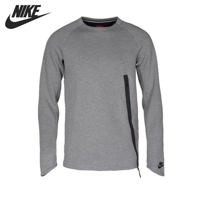 573bb9606 Original New Arrival 2017 NIKE Tech Fleece Men's Pullover Jerseys Sportswear