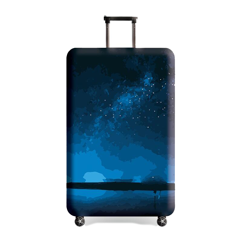 Suitcase Protective Cover Travel Elastic Luggage Cover Travel Accesories Luggage Dustproof Cover Apply to 18-32 inch Suitcase
