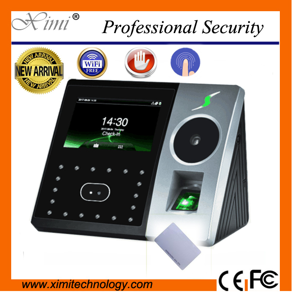 New WIFI High quality ZK PFACE 202 125KHz TCP/IP 4.3''TFT touch screen biometric Face Palm time attendance access controller