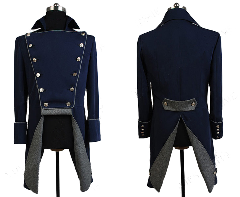 Musical Les Miserables Cosplay Norm Lewis Javert Jackets Coats Only Costume  Halloween Carnival Adult Costume Cosplay