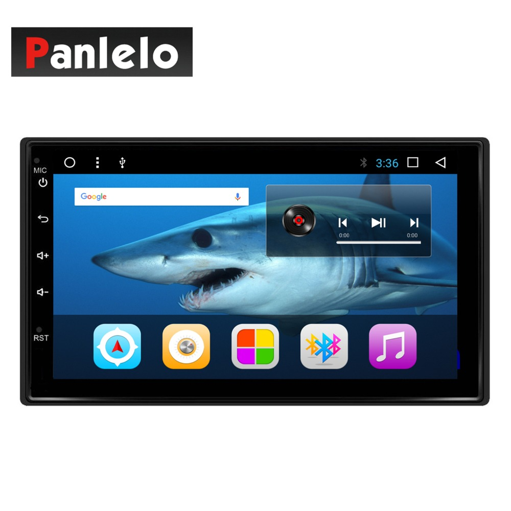 купить 2 din Android 7.1.2 Car Stereo Octa Core 1.6GHz 2GB+16GB GPS Navigation Auto Radio (AM/FM/RDS) Mirror Link 7 inch Touch Screen по цене 6561.29 рублей