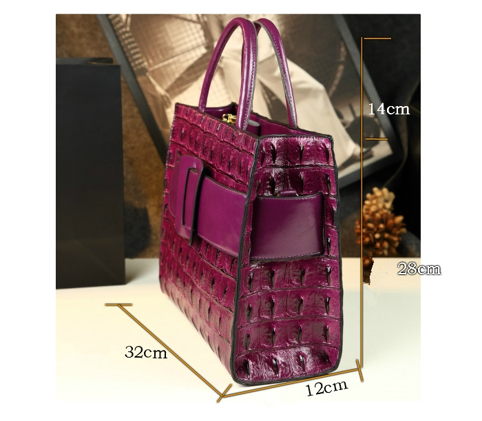 decoração moda split couro bolsa feminina designer