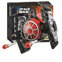 цена на Bela 10894 Star Wars Series First Order TIE Fighter Microfighter Building Block Bricks Toys Compatible With Legoings 75194