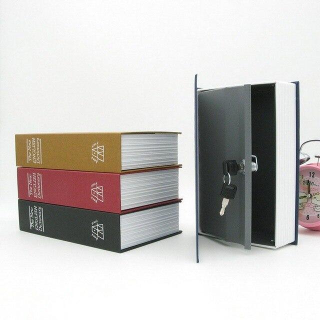 Book Appearance Safty Box Money Jewelry Secret Storage Box Security Safe Locker  sc 1 st  AliExpress.com & Book Appearance Safty Box Money Jewelry Secret Storage Box Security ...