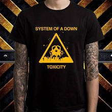 New Design Cotton Male Tee Shirt Designing Short Men System Of A Down  O-Neck Fashion 2018 Tees