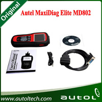 Hot Selling Original Autel MaxiDiag Elite MD802 for All System Scanner