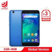 Original Global Version Xiaomi Redmi GO 1GB RAM 8GB ROM Snapdragon 425 Quad Core 5.0 4G LTE 8.0MP Camera 3000mAh Smartphone