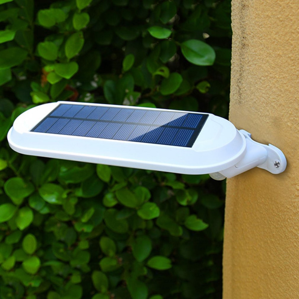 Energy Saving Outdoor Solar Power Landscape Garden Light Human Body Induction Motion Detection Wall Lamp LED Street Light цена