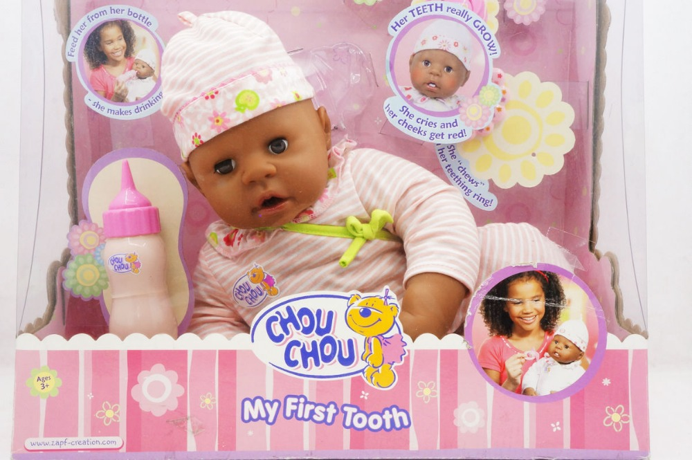 Hsb Toys Zapf Creation Baby Chou Chou My Firsttooth Doll