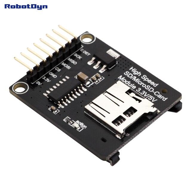 Универсальный SD + MicroSD карты Модуль высокой скорости