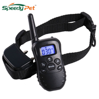 New Rechargeable Dog Shock Training Collar Dog waterproof 330 yd Remote Range with LED and Vibration Beep Shock Electric