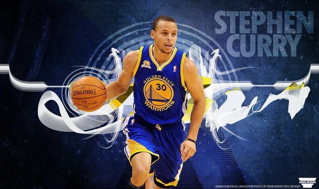 040 Stephen Curry - Golden State Warriors Basketball MVP 24