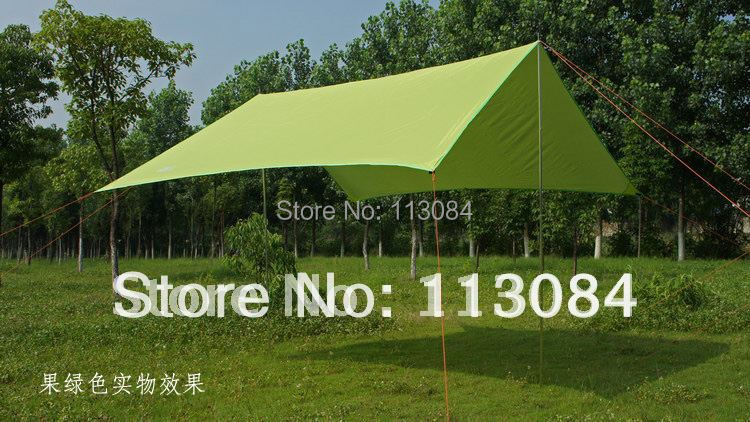 Outdoor sun-shading tentorial tent shade-shed ultralarge mat anti-uv waterproof sun-shelter FREE SHIPPING wave stripe design sun shading blackout curtain